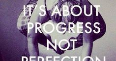 DownDog Inspirations: Its About Progress not Perfection