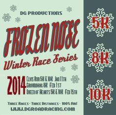 Frozen Nose Winter Race Series 2014: Oklahoma City, OK