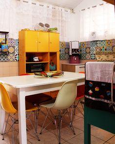 Minha cozinha na nova casa