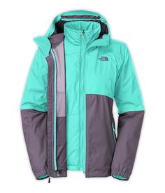 $199 The North Face Women's Jackets & Vests INSULATED 3-IN-1 JACKETS WOMEN'S ALLABOUT TRICLIMATE® JACKET