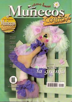 Muñecos Country Nº 40 | Manualidades