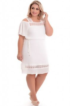 Vestido Plus Size Realist Off