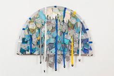 Body Architecture study, Studio Orta, 2010 Diverse textiles, polyester, webbing, telescopic structure, 150 x 170cm
