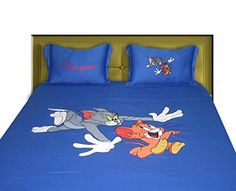 BrightLinen Custom Sheet Set Tom and Jerry