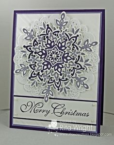 Rita's Creations: Stamp Review Crew: Festive Flurry Edition