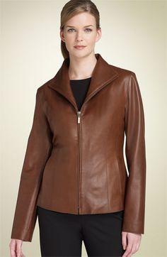 Cole Haan Lamb Scuba Jacket (Regular & Petite) | Nordstrom
