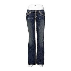 BKE Stella Boot Stretch Jean ($50) ❤ liked on Polyvore featuring jeans, pants, bottoms, denim, bke jeans, stretchy jeans, low rise bootcut jeans, low rise slim bootcut jeans and slim fit jeans