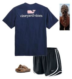"""""""Spring Contest!"""" by liblu13 ❤ liked on Polyvore featuring NIKE, Vineyard Vines and Birkenstock"""