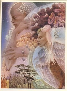 illustrations by leo and diane dillon | Jan Carew: Children of the Sun