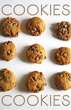 banana, oatmeal chocolate chip cookies (dairy, egg and nut free!)