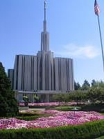 LDS Temple in Bellevue, Washington