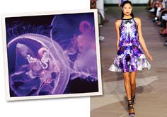 Vogue Daily:The Look Aquatic: Spring Fashion Takes Inspiration from Reefs and Rainforests    by Katherine Bernard