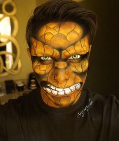 This artist transforming himself into comic book superheroes with only makeup will blow your mind
