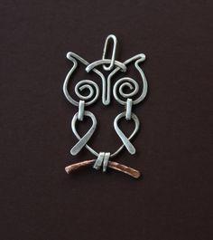 Owl | JewelryLessons.com  My next jewelry project!