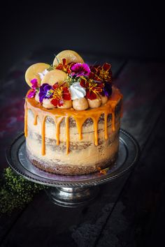 Orange and Carrot Cake