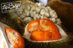 I love Durian - most westerners don't so more for me! #sabah #fruits #durian #borneo