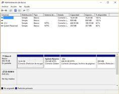 Cómo ocultar o borrar la partición de recuperación en Windows 10
