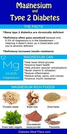 Magnesium and Diabetes http://www.diabetesdestroyerbonus.com/exercise-and-diabetes-type-2/ All of these can be added to a smoothie very easily and have wonderful health benefits even if you are not diabetic!