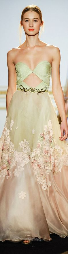 Dany Atrache. Spring/Summer 2015. Couture... Like the skirt...