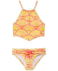 Roxy Girls' Bandana Two-Piece Swimsuit - Swimwear - Kids & Baby - Macy's
