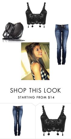 """Going to baby Caleb's Birthday with Brett <3 ~Maddi"" by elizabeth-anons ❤ liked on Polyvore featuring Rebecca Minkoff"
