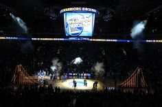 Warriors Ground: Home to the best fans in the NBA.