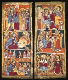 ethiopian orthodox art | Icon | Ethiopian Icons: Faith & Science