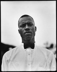[Man Wearing Bow Tie, Florida]  Walker Evans