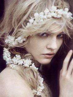 Sasha Pivovarova by Paolo Roversi for Vogue Italia September 2007