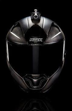 Fusar Mohawk motorcycle helmet front view