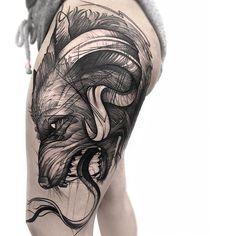 Wolf  for Katrina first tattoo, thank you again Done using @silverbackink @revolutionneedles @killerinktattoo @hustlebutterdeluxe @truetubes  ➕➕➕➕➕➕➕➕➕➕➕➕➕➕➕➕➕➕➕➕➕➕ #inkstinctsubmission #iblackwork #tattooculturemagazine #blacktattoing #radtattoos #blackworkerssubmission #darkartists #tattoodo #blackworkartists #blackwork #thebesttattooartists #TAOT #inspirationtatto #tattooartistmagazine #btattooing #onlyblackart #skinartmag #tattoorevuemag #silverbackinkstupidblack #TattooistArtM...