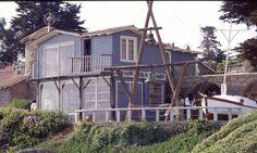 La casa de Pablo Neruda. Isla Negra, Chile