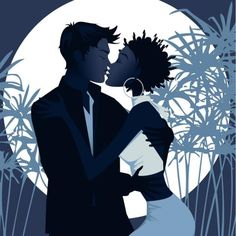 www.blackwhitecupid.com - Interracial Kiss