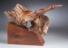 1st in Class 945 - Driftwood/Weather Wood – Aniamal/s    Escape    Jay Brasher - Peterburg, TN    10.5 x 15 x 9