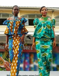 """Le Pagne Africain"""": Fierté de la Femme Africaine Elégante ."""