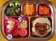 Playful Lunch  #EasyLunchBoxes #vegetarian #bento