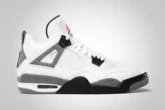 Jordan IV White/Cement.  Never loved this colorway but I'll probably youtube those old Mars ads and pick them up anyway.