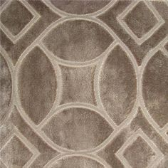 Reidshire Chateau Geometric Design Cut Velvet Upholstery Fabric by Richloom Platinum Fabrics - 57929 | BuyFabrics.com