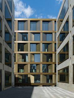 UBS Bank in Zürich, Max Dudler, Annette Gigon / Mike Guyer Architekten und David Chipperfield Architects