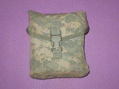 $5.00 #USGI #MOLLE #II #ACU #POUCH #200 #RD #AMMO #MAG #NSN8465015247620 #7x4x8INCHES #MILITARY #SURPLUS #OUTLET #TRADERS
