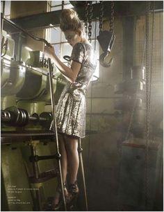 high fashion factory photoshoot - Google Search