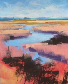 Painting My World: Monday Mini Demo...Trying Schminke Pastels