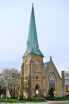 My beloved home church; Trinity Episcopal Church in Fort Wayne, Indiana