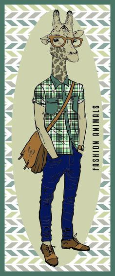 """Brand NEU: Blechschilder """"Fashion animals"""" von cuadros lifestyle Erhältlich bei Amazon: http://www.amazon.de/Wanddekoration-Blechschild-Fashion-animals-25x60cm/dp/B00UN1MMZW/ref=aag_m_pw_dp?ie=UTF8&m=A21LL1M8YOA9ZB"""