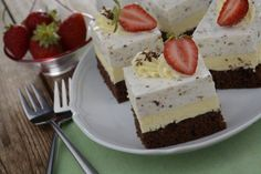 Cake Recept, Czech Recipes, Tea Time, Sweet Treats, Cheesecake, Food And Drink, Pudding, Sweets, Baking