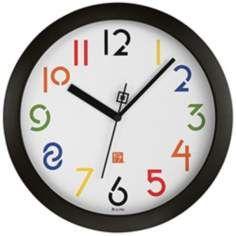 """Bulova 11"""" High Frank Lloyd Wright Exhibition II Wall Clock"""