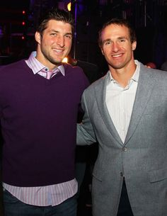 Tim Tebow and Drew Brees!!