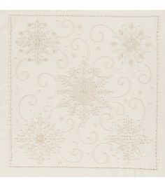 Janlynn Snowflakes Candlewicking Embroidery Kit: embroidery: cross stitch: yarn & cross stitch: Shop | Joann.com