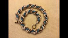 Dutch Spiral Necklace ~ Seed Bead Tutorial