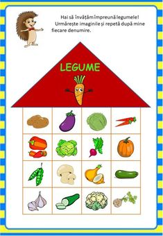 Învățăm jucându-ne: Legumele - Logorici Shape Templates, Circle Time, Educational Games, Preschool Activities, Paper Art, Gifts For Her, Kindergarten, Projects To Try, Holiday Decor